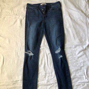 HOLLISTER high-waisted jeans